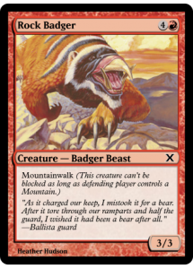 Rock Badger