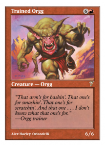 Trained Orgg