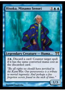 Hisoka, Minamo Sensei