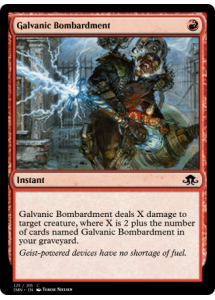 Galvanic Bombardment