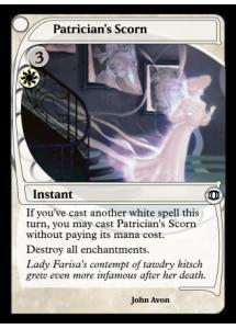 Patrician's Scorn