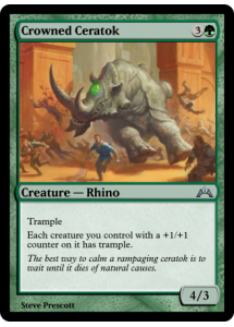 Crowned Ceratok