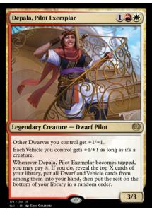 Depala, Pilot Exemplar