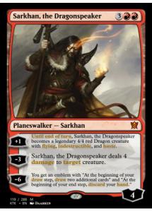 Sarkhan, the Dragonspeaker