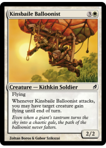 Kinsbaile Balloonist