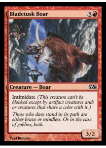 Bladetusk Boar