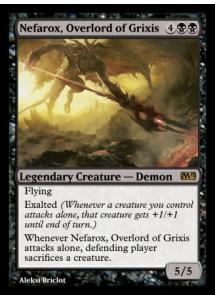 Nefarox, Overlord of Grixis