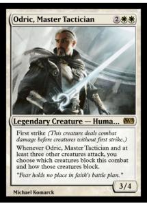 Odric, Master Tactician