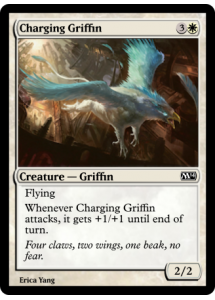 Charging Griffin
