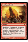 Red Sun's Zenith