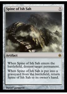 Spine of Ish Sah