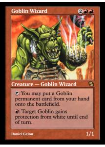 Goblin Wizard