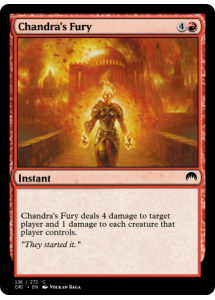 Chandra's Fury