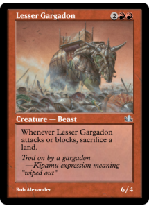 Lesser Gargadon
