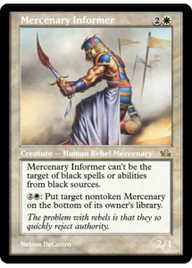 Mercenary Informer