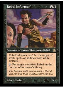 Rebel Informer