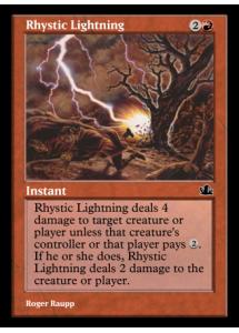 Rhystic Lightning