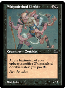 Whipstitched Zombie