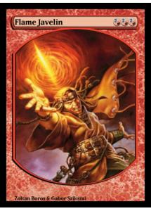 Flame Javelin