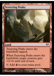 Teetering Peaks