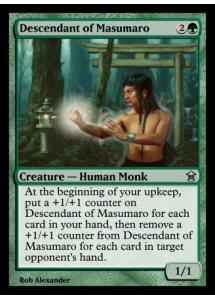 Descendant of Masumaro