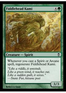 Fiddlehead Kami