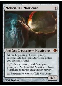 Molten-Tail Masticore