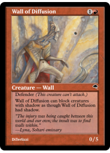 Wall of Diffusion
