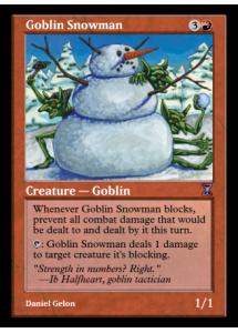 Goblin Snowman