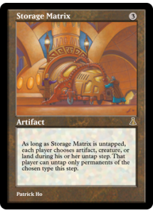 Storage Matrix