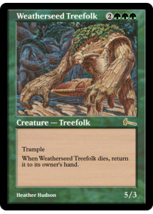 Weatherseed Treefolk
