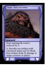 Avatar - Bosh, Iron Golem