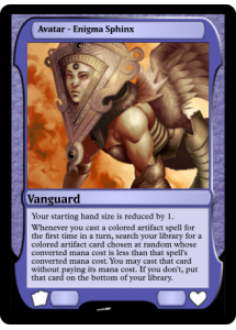 Avatar - Enigma Sphinx