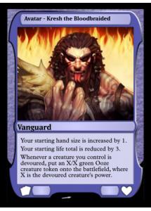 Avatar - Kresh the Bloodbraided