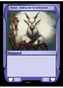 Avatar - Zedruu the Greathearted
