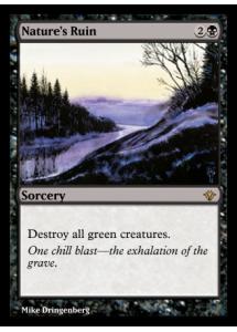 Nature's Ruin