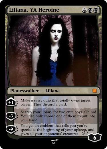 Liliana YA Heroine
