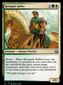 Renegade Rallier