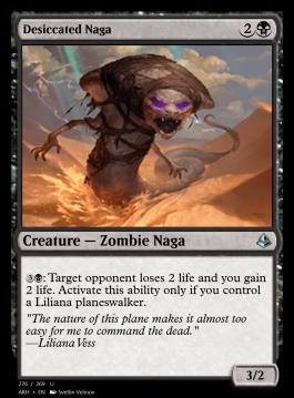 Desiccated Naga