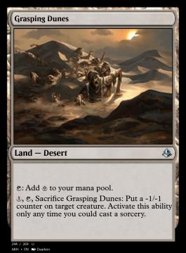 Grasping Dunes