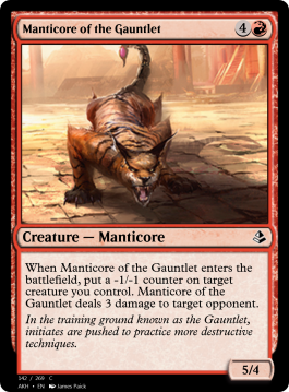 Manticore of the Gauntlet