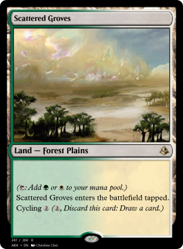 Scattered Groves