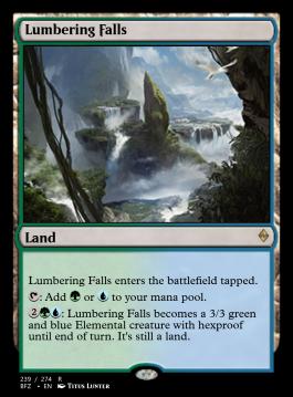 Lumbering Falls