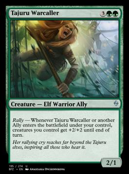 Tajuru Warcaller