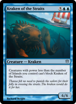 Kraken of the Straits