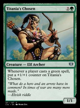 Titania's Chosen