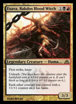 Exava, Rakdos Blood Witch