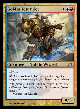 Goblin Test Pilot