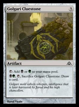Golgari Cluestone