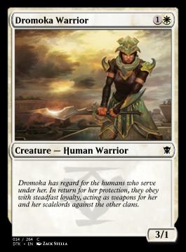 Dromoka Warrior
